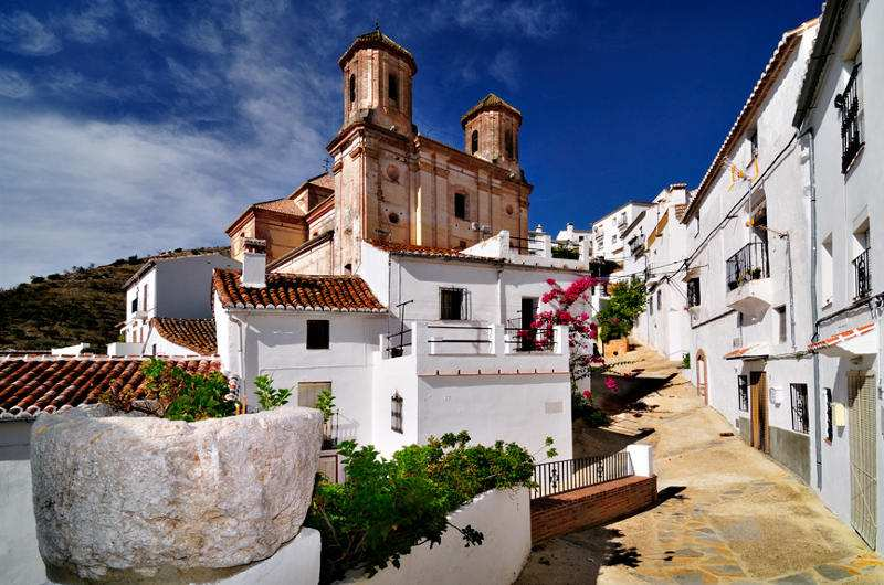 undiscovered white village of Andalucia