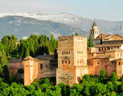 romantic city of Granada